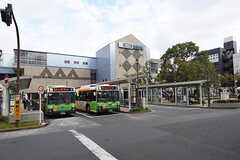 東京メトロ東西線・西葛西駅の様子。(2016-10-19,共用部,ENVIRONMENT,1F)