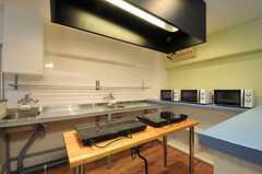 キッチンの様子2。(2013-03-11,共用部,KITCHEN,1F)