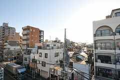 屋上の様子2。スカイツリーも見えます。(2013-03-11,専有部,ROOM,5F)