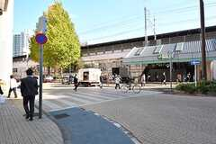 JR中央総武線・小岩駅の様子。(2016-11-29,共用部,ENVIRONMENT,1F)