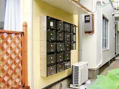 各部屋分用意された集合ポスト(2006-07-13,共用部,OTHER,1F)