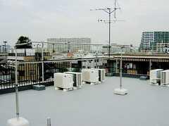 屋上の様子。(2006-07-13,共用部,OTHER,4F)
