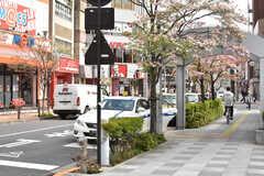 JR中央総武線・平井駅周辺の様子。(2017-04-25,共用部,ENVIRONMENT,1F)