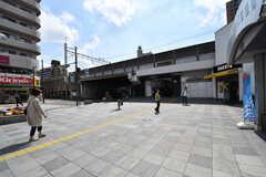 JR中央総武線・平井駅の様子。(2017-04-25,共用部,ENVIRONMENT,1F)