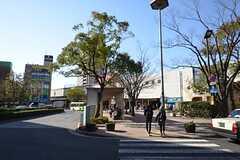 都営新宿線・船堀駅の様子。(2015-03-25,共用部,ENVIRONMENT,1F)