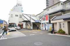 京成本線・京成小岩駅の様子。(2015-12-10,共用部,ENVIRONMENT,1F)