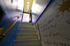 階段の様子。(2016-10-12,共用部,OTHER,2F)