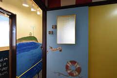 バスルームの入口。(2016-10-12,共用部,BATH,3F)