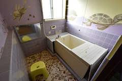 バスルームの様子。(2016-10-12,共用部,BATH,3F)