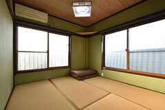 専有部の様子。和室です。(302号室)(2016-10-12,専有部,ROOM,3F)