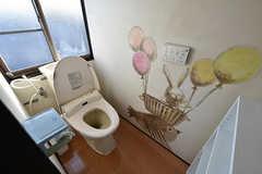 トイレの様子。(2016-10-12,共用部,TOILET,4F)