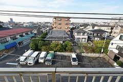 窓から見た景色。(302号室)(2016-10-12,専有部,ROOM,4F)