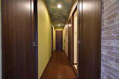 廊下の様子。(2016-10-12,共用部,OTHER,1F)
