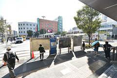 葛西駅前はロータリーです。(2016-10-12,共用部,ENVIRONMENT,1F)