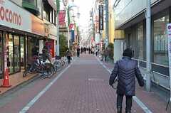 JR中央総武線・小岩駅周辺の様子。(2016-02-16,共用部,ENVIRONMENT,4F)