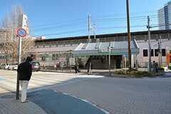 JR中央総武線・小岩駅の様子。(2016-02-16,共用部,ENVIRONMENT,4F)