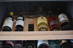 入居者さんのワインがずらり。(2015-10-02,共用部,LIVINGROOM,1F)