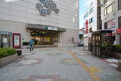 都営新宿線・瑞江駅の様子。(2015-10-02,共用部,ENVIRONMENT,1F)