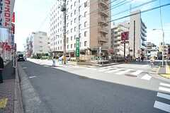 都営新宿線・瑞江駅前の様子。(2015-10-02,共用部,ENVIRONMENT,1F)