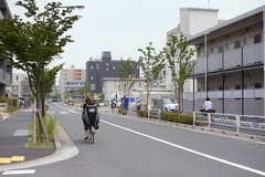 周辺は穏やかな住宅街です。(2017-07-18,共用部,ENVIRONMENT,1F)