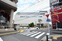 都営新宿線・瑞江駅の様子。(2017-07-18,共用部,ENVIRONMENT,1F)