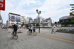 都営新宿線・瑞江駅前の様子。(2017-07-18,共用部,ENVIRONMENT,1F)