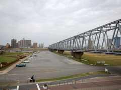 江戸川の様子。(2008-03-21,共用部,ENVIRONMENT,1F)