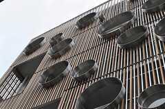 シンボリックな建築です。(2011-04-20,共用部,OUTLOOK,1F)