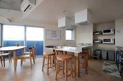 アイランド・キッチンです。(2011-04-20,共用部,LIVINGROOM,6F)