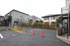 駐車場の様子。(2011-04-20,共用部,GARAGE,1F)