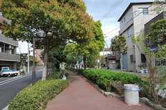 東京メトロ東西線・西葛西駅からシェアハウスへ向かう道の様子。(2011-04-20,共用部,ENVIRONMENT,1F)