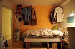 住人さんの部屋の様子2。(705号室)(2013-12-15,専有部,ROOM,7F)