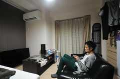 住人さんの部屋の様子。(604号室)(2013-12-15,専有部,ROOM,6F)