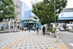 東京メトロ東西線・西葛西駅の様子。(2018-09-07,共用部,ENVIRONMENT,7F)