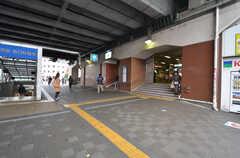 東京メトロ東西線・葛西駅の様子。(2014-12-11,共用部,ENVIRONMENT,1F)