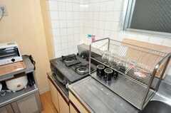 シェアハウスのキッチンの様子2。(2009-07-21,共用部,KITCHEN,9F)