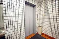 エレベーターの様子。(2009-06-08,共用部,OTHER,1F)