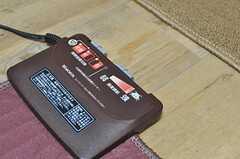 こたつに電気カーペット。ぬくぬくです。(2012-12-10,共用部,LIVINGROOM,6F)