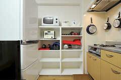 キッチンツールの様子。(2012-12-10,共用部,KITCHEN,6F)