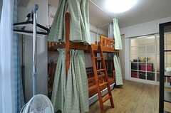 2段ベッドの様子。(6051号室)(2012-12-10,専有部,ROOM,6F)