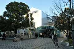 東京メトロ東西線西葛西駅の様子。(2012-12-10,共用部,ENVIRONMENT,1F)
