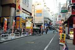 東京メトロ東西線西葛西駅からシェアハウスへ向かう道の様子。(2012-12-10,共用部,ENVIRONMENT,1F)