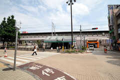 JR総武線小岩駅の様子。(2010-07-06,共用部,ENVIRONMENT,3F)