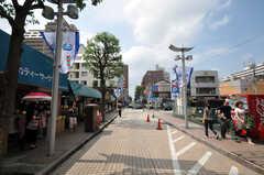 JR総武線小岩駅前の様子。(2010-07-06,共用部,ENVIRONMENT,3F)