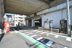 京成本線・江戸川駅の様子。(2016-03-15,共用部,ENVIRONMENT,1F)