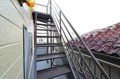 屋上への階段。(2015-10-20,共用部,OTHER,3F)