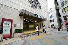 都営新宿線・瑞江駅の様子。(2015-10-20,共用部,ENVIRONMENT,1F)