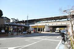 JR総武線・平井駅の様子。(2014-02-10,専有部,ROOM,1F)