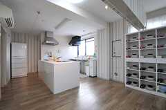 キッチンの様子。(2012-08-13,共用部,KITCHEN,5F)