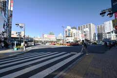 各線・新小岩駅前の様子。(2018-01-12,共用部,ENVIRONMENT,1F)